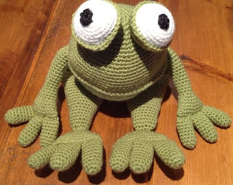 Froggiel, Quirky toy, Cuddly frog, Childrens toy,
