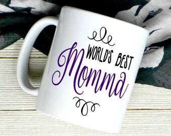 World's Best Mom Coffee Mug - New Mom Gift - Mother's Day Gift - Mom Coffee Mug - Gift For Wife