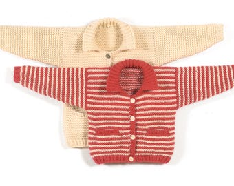 Winter Sweater to Knit PDF Pattern Instant Download