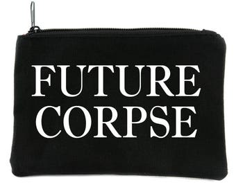 Future Corpse Cosmetic Makeup Bag Pouch Alternative Gothic Accessories - DYS-HTV-014-MKBG