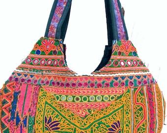 handmadeVintage Banjara Bag,Embroidered Handbag,Gypsy bag,market bagTribal Bag,  Ethnic Bag,Shoulder bag,Tote,  handicrafted Bag,Suzani bag