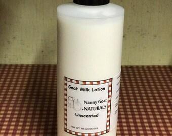 Unscented 8 oz. Goat Milk Lotion