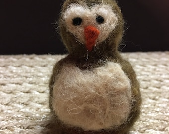 Hand Felted Owl