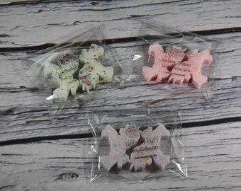 Unicorn scented soy wax sampler, Sampler bag, Unicorn wax melts, Unicorn gifts, highly scented wax melts