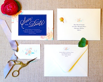 Save the Date   Custom Save the Date   Wedding Invites   Wedding Invitations   Custom Invitations   Watercolor Invitations