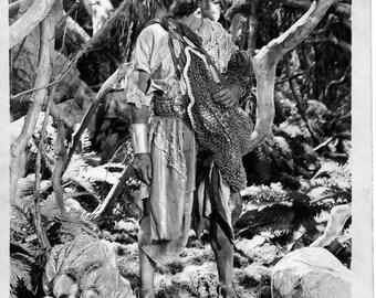 Jungle Book  - 1942 -  Frank Puglia  -  black and white publicity still