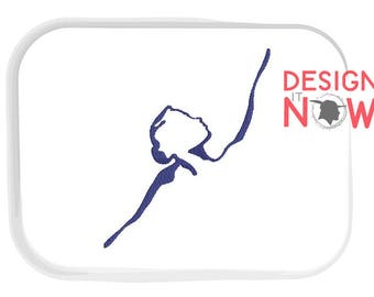 4 Designs - Sports Dance Machine Embroidery Design