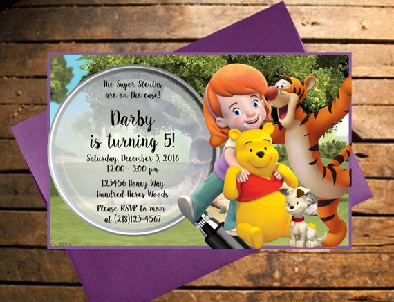 Downloadable my friends tigger pooh themed birthday like this item altavistaventures Images