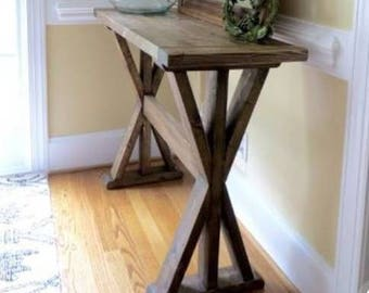 Rustic Consol Table