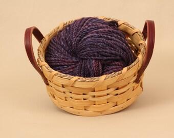 Hand Spun Yarn Merino Wool 172 Yards Worsted Weight
