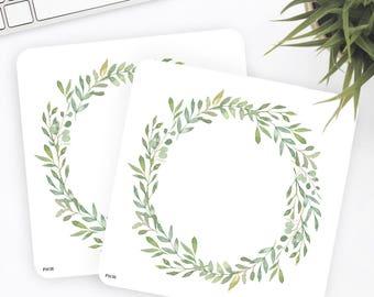 FW36 | Wreath Sticker | Decorative Sticker | Watercolor Sticker | Flower Sticker | Planner Stickers | Bullet Journal Stickers