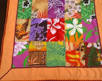 Baby blanket / Polynesian fabric child