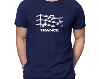 Trance Musical Notes T-Shirt