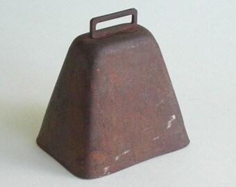 Vintage Worn Metal Cow Bell