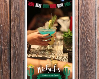 Mexican Fiesta Snapchat Geofilter