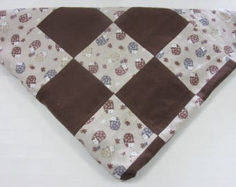 Baby Quilts - Patchwork Quilts - Hedgehog Heaven