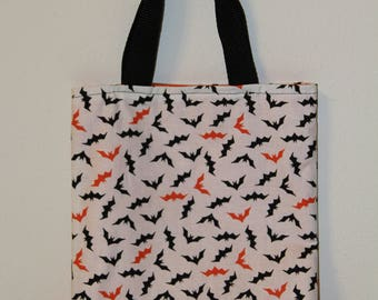 Chauves-souris Halloween Tote Bag, trick or treat sac