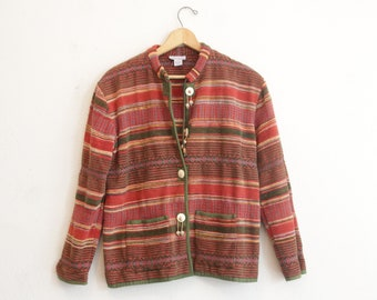 Ethnic textured Jacket