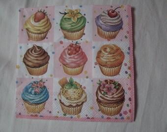 cupcake paper towel