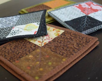 Assorted micro quilts
