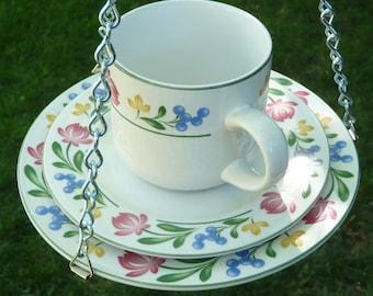 Cup, Saucer, Plate Bird Feeder, Dorchester