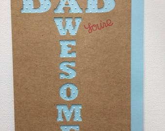 Fathers Day Card / Birthday Card
