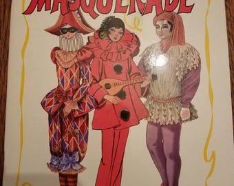 Paper Doll Masquerade Uncut Paper Doll Book 1987
