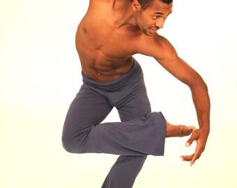 Yoga Pants -Men-  in Several Colors - Eco Friendly - Organic Clothing -Yoga Gear