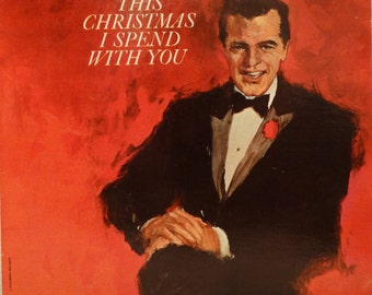 Robert Goulet – This Christmas I Spend With You 1963 ( LP, Album, Vinyl Record )  Christmas, Jazz, Easy Listening, Holiday Music