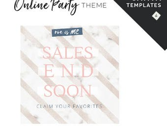 Canva Templates for Online Business Social Media Designs