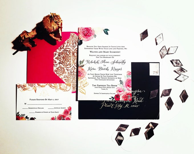 Featured listing image: CUSTOM & HANDMADE invitations