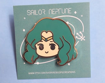 Sailor Neptune Enamel Pin