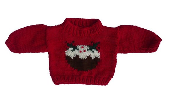 Baby Christmas Pudding Jumper Chunky Knitting Pattern