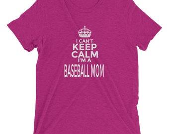 Baseball Mom: Funny Novelty T-Shirt