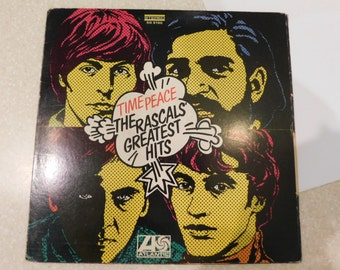 RASCALS Time Peace: Greatest Hits 1960's (Vinyl LP) MONO Pop Art Cover