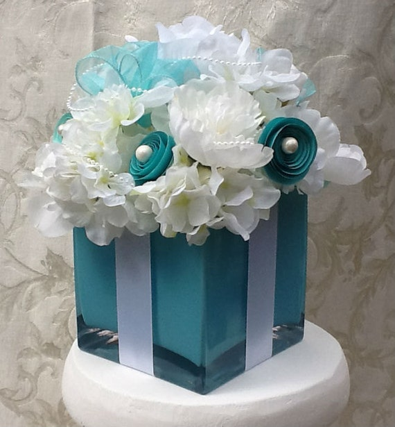 Tiffany Blue Wedding Decoration Ideas: Wedding Decorations Centerpiece Bridal Shower Sweet 16 Silk