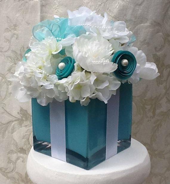 Tiffany Blue And Black Wedding Ideas: Wedding Decorations Centerpiece Bridal Shower Sweet 16 Silk