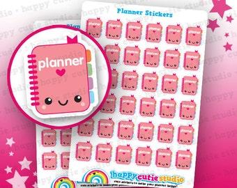 36 Cute Planner/Planning Stickers, Filofax, Erin Condren, Happy Planner,  Kawaii, Cute Sticker, UK
