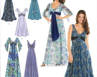 SIMPLICITY 3785 sewing pattern. Evening dress pattern.  Size 8-10-12-14-16  New.  Uncut.  Factory folded.