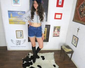 Vintage Wrangler Denim Cut Off & High Waisted Shorts