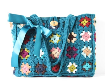 Crochet shoulderbag Pandora