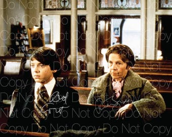 Harold and Maude signed 3 Bud Cort Ruth Gordon 8X10 photo picture autograph poster RP