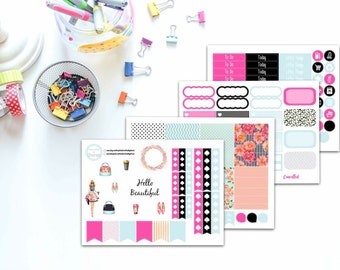 Miss Kate Weekly Planner Sticker Kit