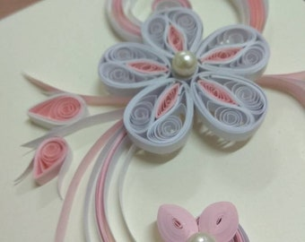 Quilling Greetings Card