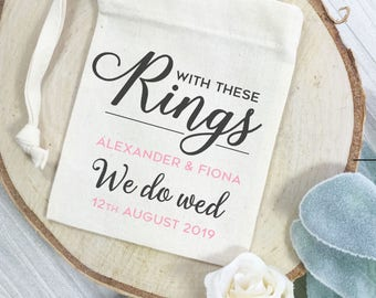 Wedding ring bags Etsy