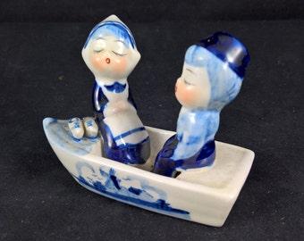 Delfts Blauw like Small Boat blue white dutch blue dutch ceramic ceramic boat blue-and-white boat keramic keramic boat porseline
