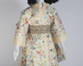 "RC605E - ""Yuki"" Cloth Doll Sewing Pattern – PDF Download Doll Making Pattern"