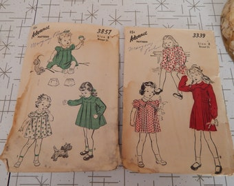 Vintage Two Kid Clothing Pattern