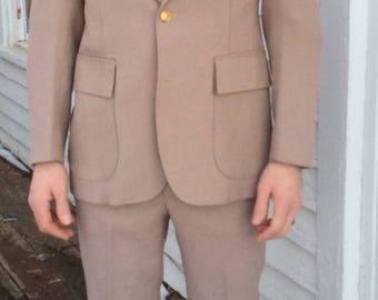 70s Mens Suit Vintage 40 34 Levis Panatela Sportswear