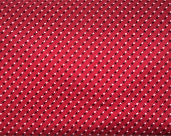 Patriotic fabric - red white and blue fabric - 4th of July, Memorial Day, Veterans Day, American flag fabric - #15346